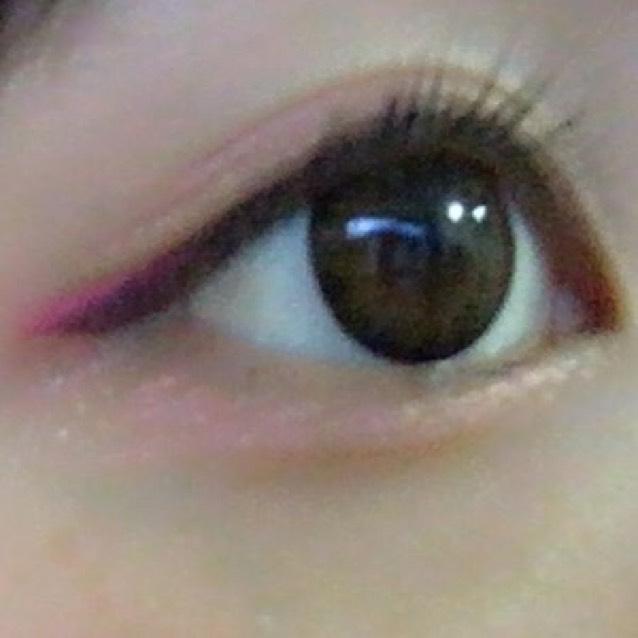 目はこんな感じで完成です♡