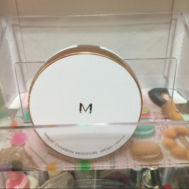 ミシャ クッションファンデーション「モイスチャー」 1000円位