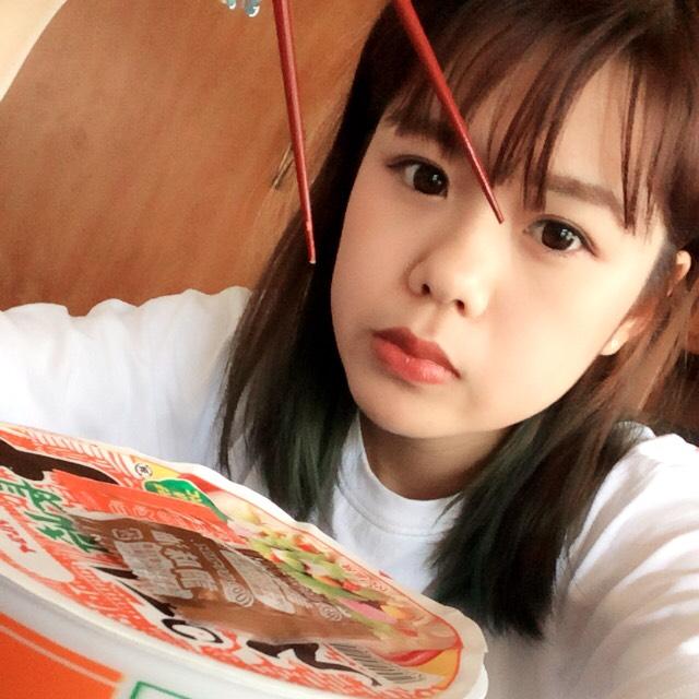 今日のメイク!ちゃんぽん食べます☆彡.。