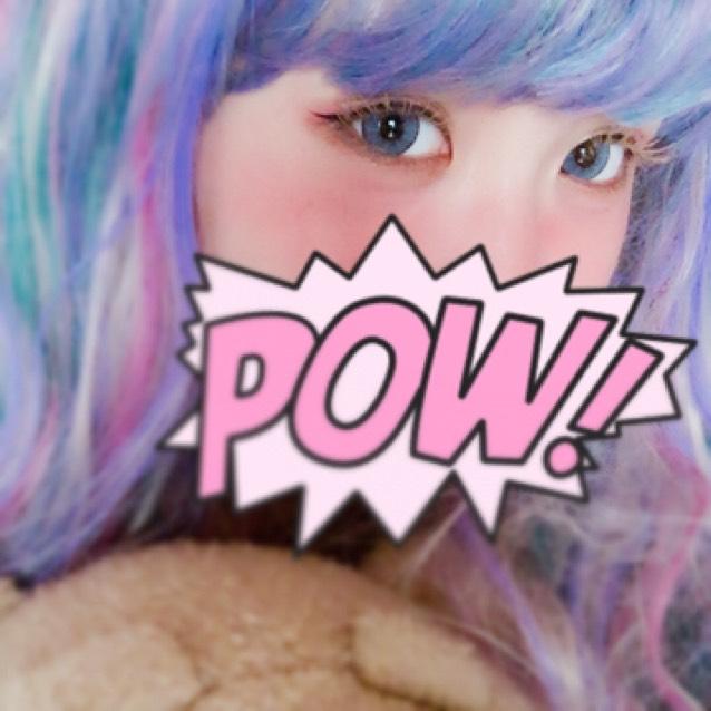ペコちゃん風メイク