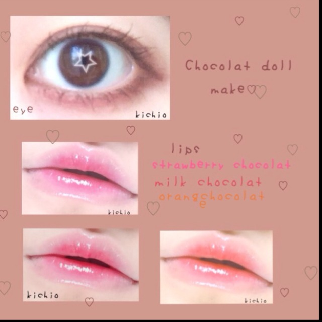 chocolat doll make