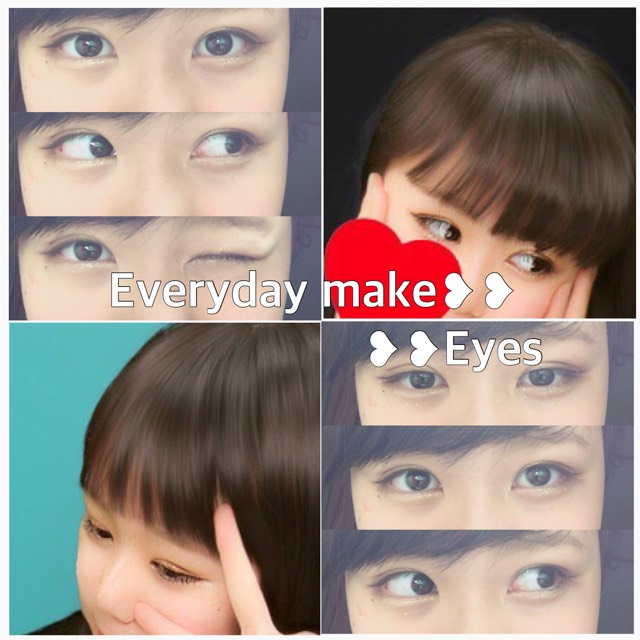 Everyday make/Eyes(裸眼)