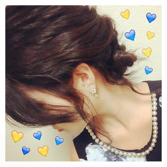 hair arrange ✧‧˚