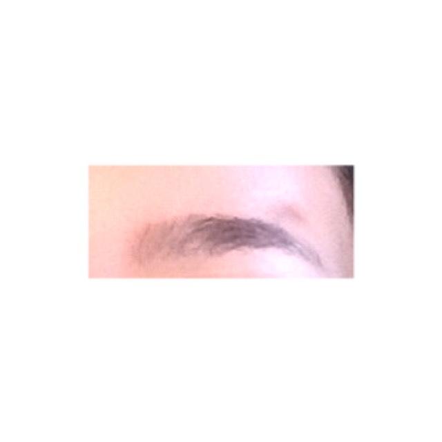 眉毛の書き方(*´∀`*)のBefore画像