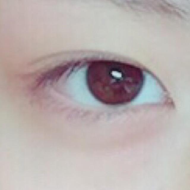 ツヤ目元❤️ナチュでか目のBefore画像