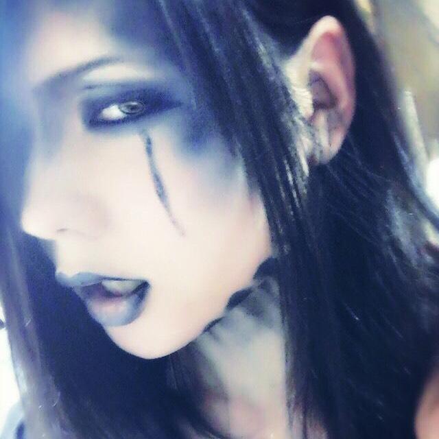 黒い涙のAfter画像