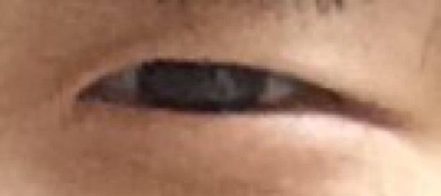 ナチュラルプチプラメイクのBefore画像