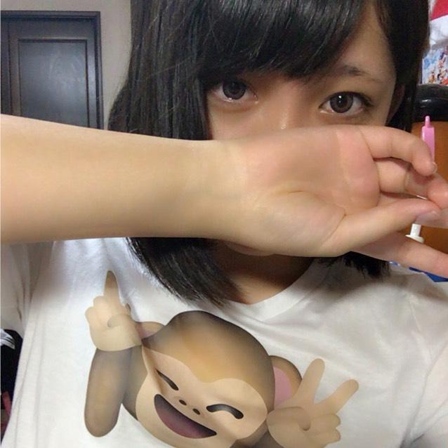 ぺこちゃん風メイクのBefore画像