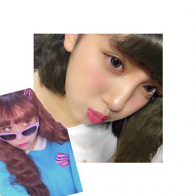 ぺこちゃん風メイクのAfter画像