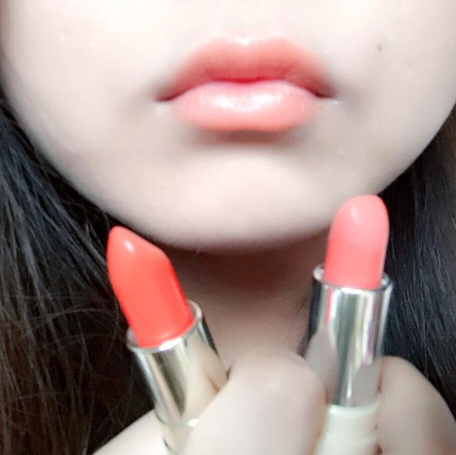 オレンジリップ/kiss me × ちふれのAfter画像