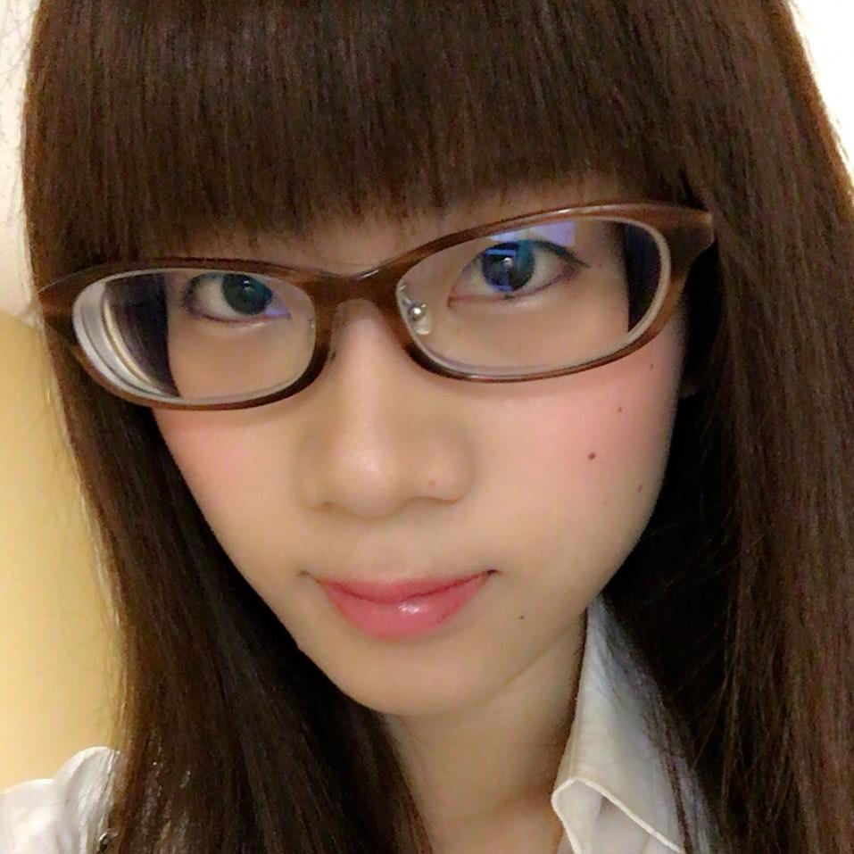 メガネ+裸眼 お仕事メイク