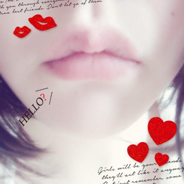 通常の唇。唇はラッシュのリップスクラブでケアしてます。バブルガムフレーバーがいい匂いで好き。