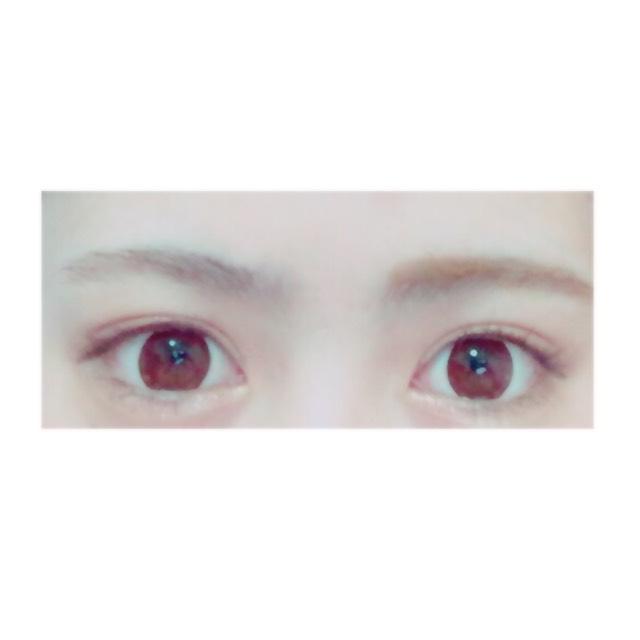 我的眉妝畫法のAfter画像