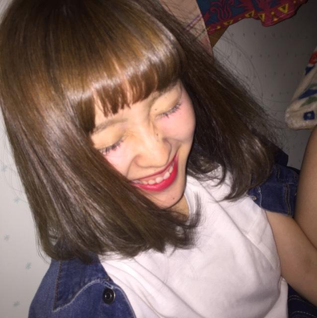 光澤感彩妝のAfter画像