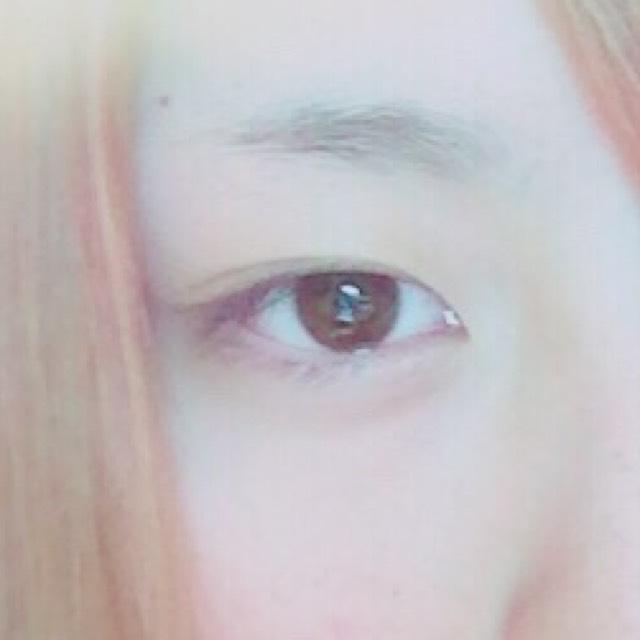 裸眼うさぎメイクのBefore画像