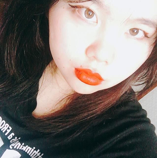 赤✖︎黒メイク