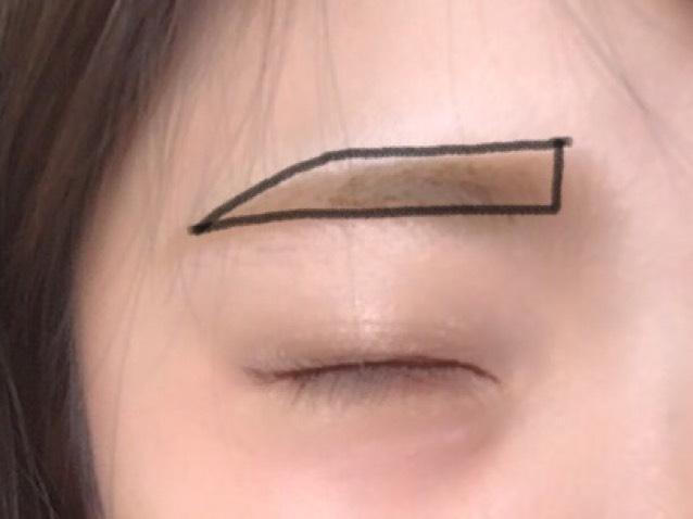 眉毛は必ず平行に‼︎っ 平行眉にするだけで印象がきつくならないようになるよ‼︎٩(•̀ω•́٩)≡: