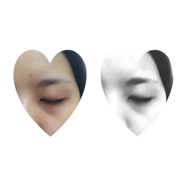 オルチャン風メイク♡(ベースメイク)のBefore画像