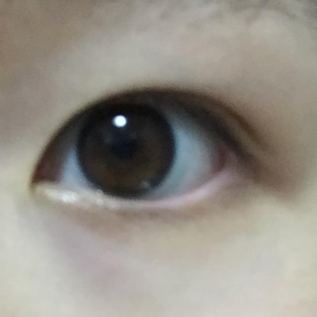 裸眼メイクのBefore画像