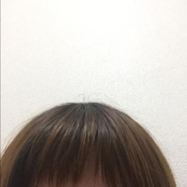 前髪をまずはさっぱりします!!