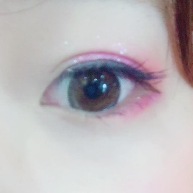 ピンクアイメイク。のAfter画像