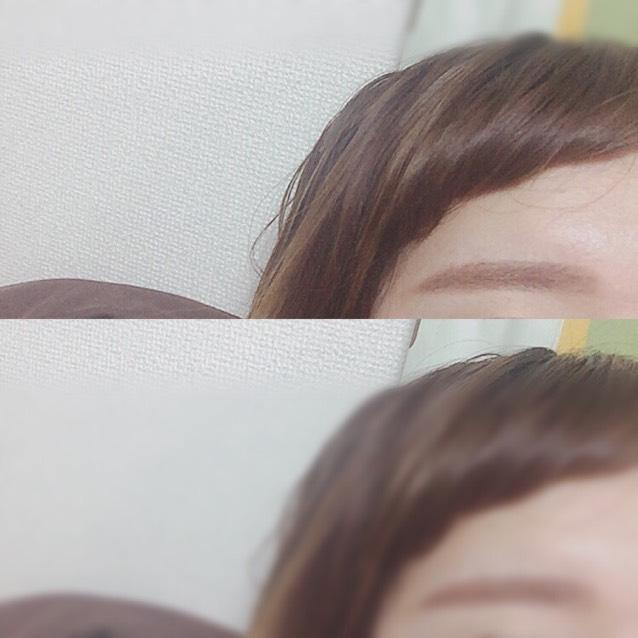 アイブロウは 眉尻の方をペンシルで かいてからパウダーで 全体的にのせます◎ 眉毛がないところは グレーのペンシルで かきたしますϵ( 'Θ' )϶ 眉マスカラをぬり 完成。ふんわり眉毛!