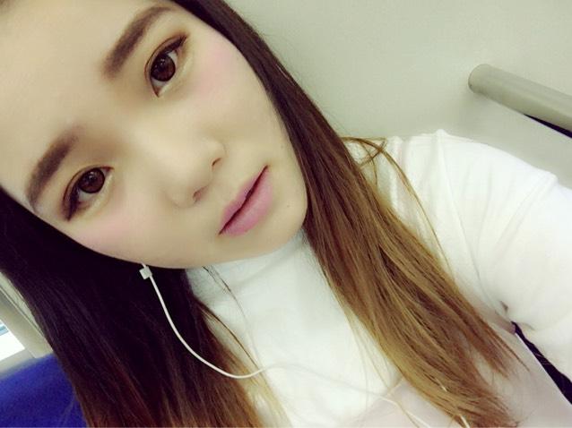 おひさしぶりの青みメイク♡のBefore画像