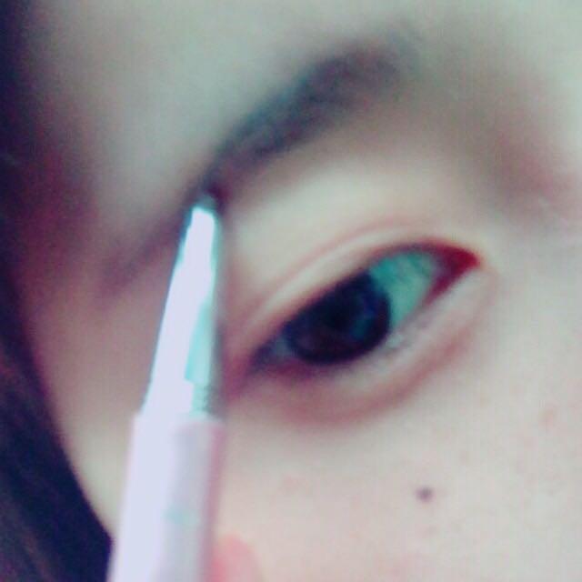 【アイブロウ】 ダイソーのブラウンアイブロウで眉毛を書きます
