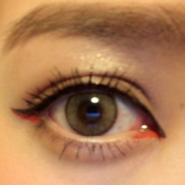オレンジライン《裸眼》のBefore画像