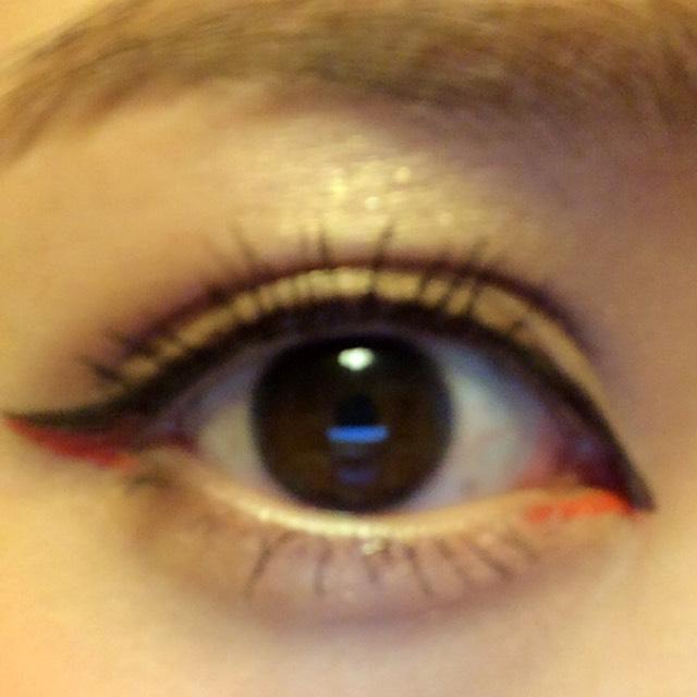 オレンジライン《裸眼》のAfter画像