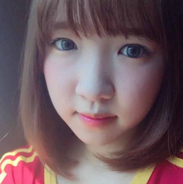 ブルー×オレンジ 夏メイク