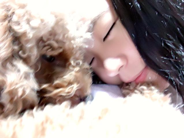 わふ子と寝たのさ(*˙˘˙*)