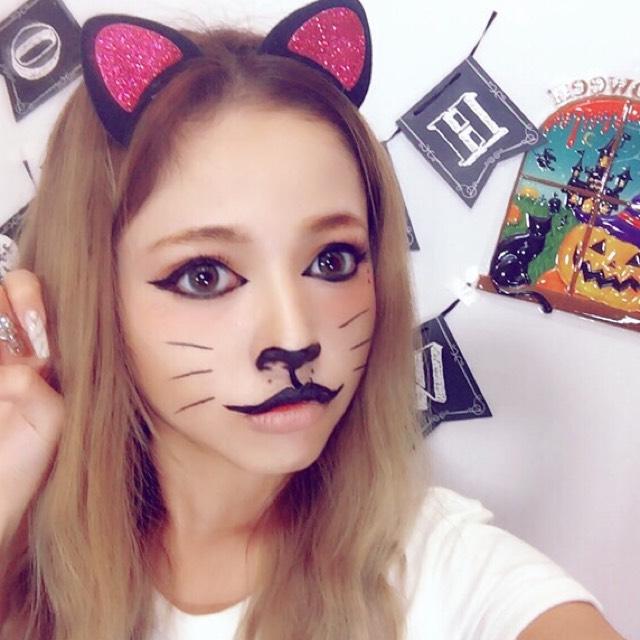 ★るな猫バージョン:ハロウィンキャットメイク★