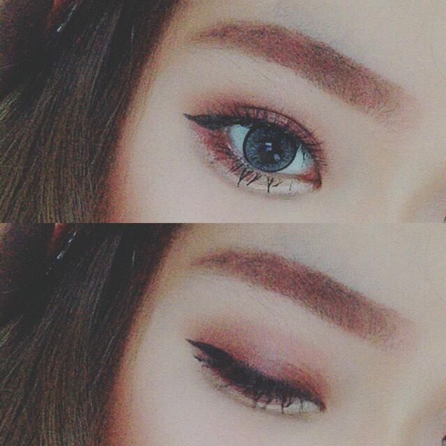 > autumn eyemakeup <