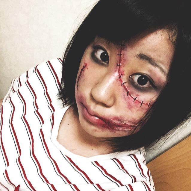 【傷メイク】ハロウィンは可愛いよりリアル派