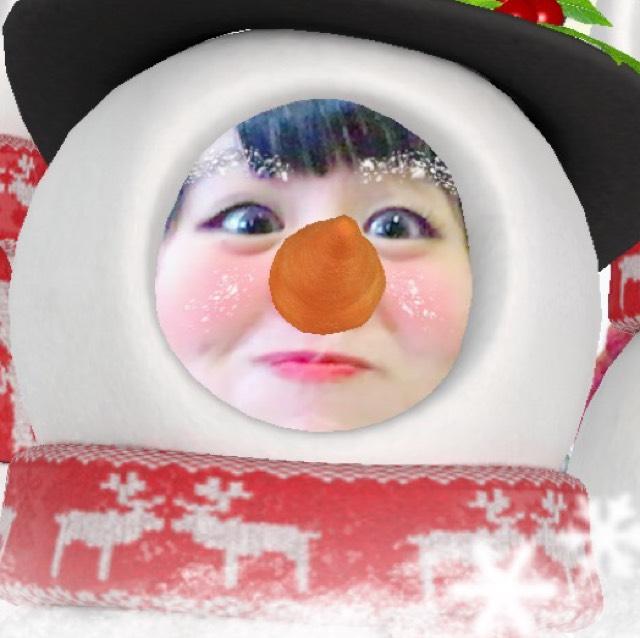 SNOWで雪だるま〜笑