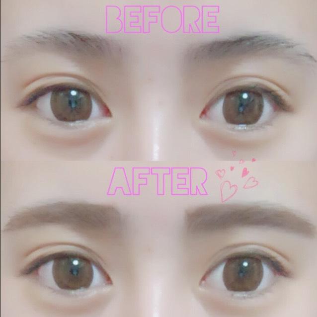 ♡優しい眉毛の作り方♡