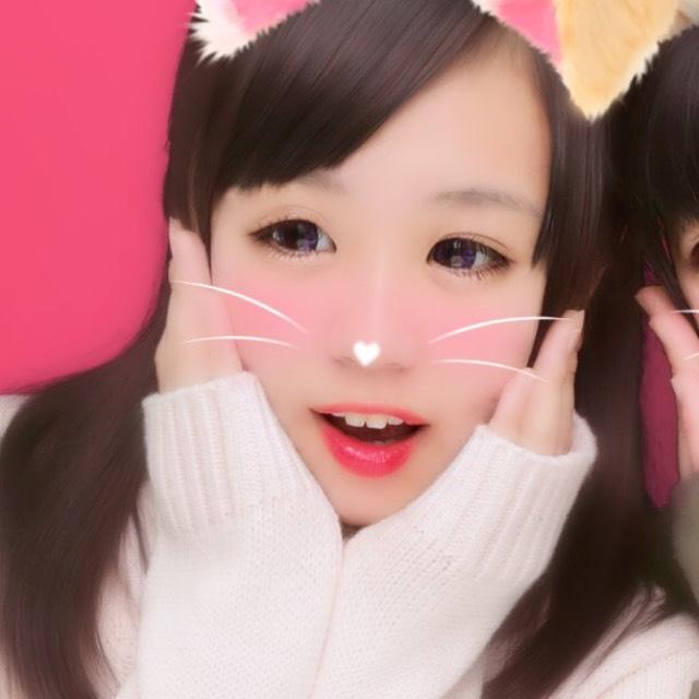 今日のプリ♡紫カラコン