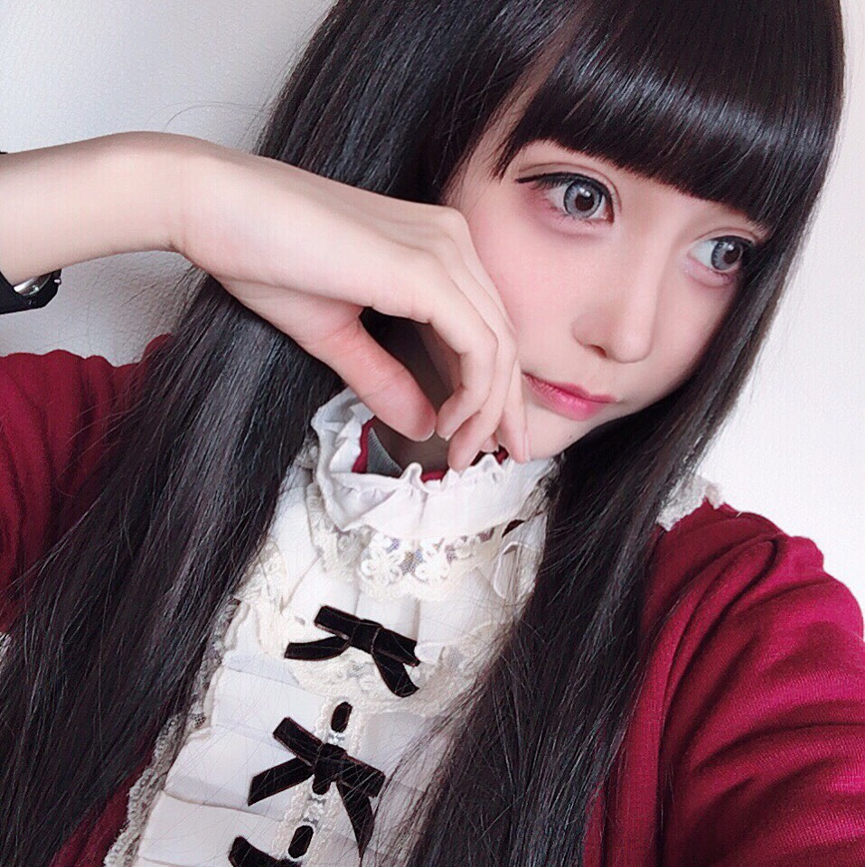 黒髪ドーリーメイク(薄めver.?)