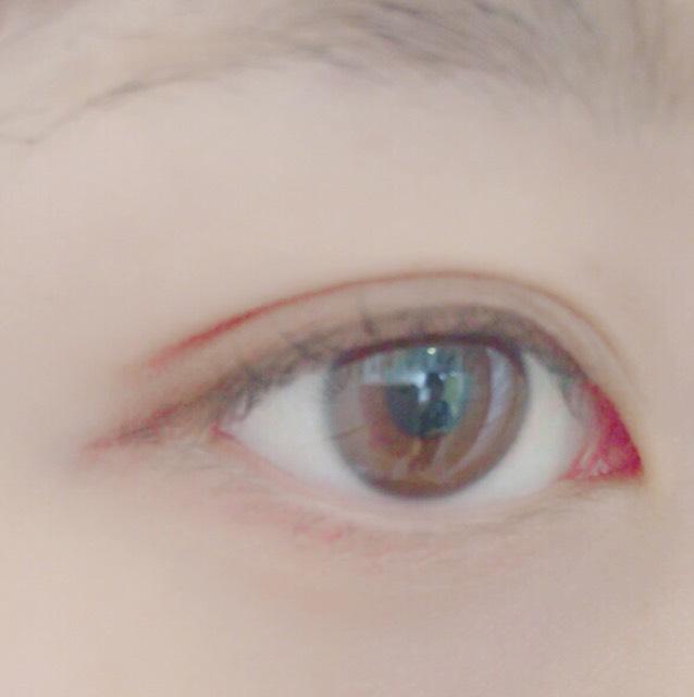 【裸眼メイク】