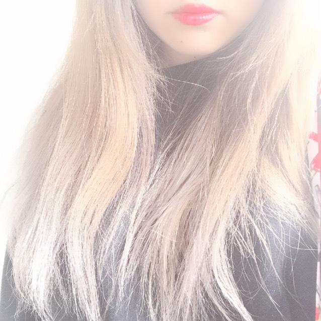 今の髪色☆*。