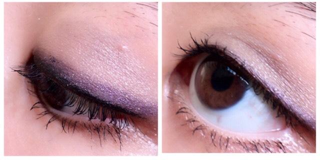 カラーメイク(紫)