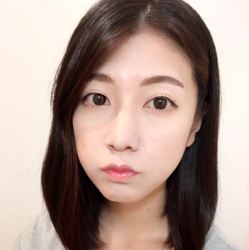 私なりの太眉韓国風メイク