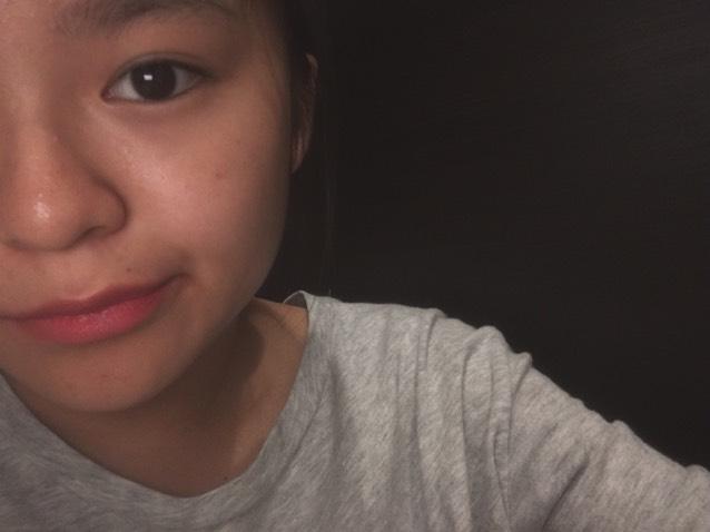 眉毛と口紅
