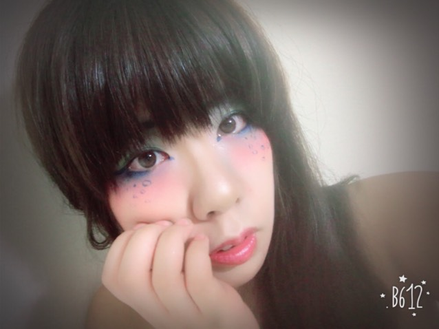 summer☆彡.。人魚姫風メイク