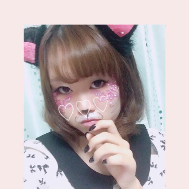 ハロウィン猫メイク♡