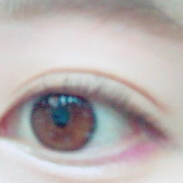 目の下青みピンク♡