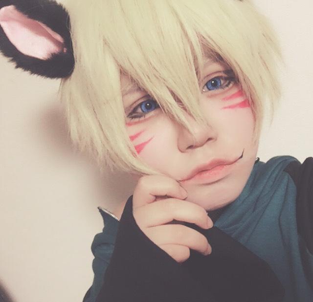 狐(?)メイク