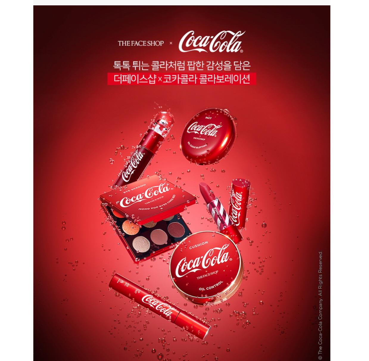 【コカ・コーラ とコラボ】韓国コスメ♡THE FACE SHOP 新作