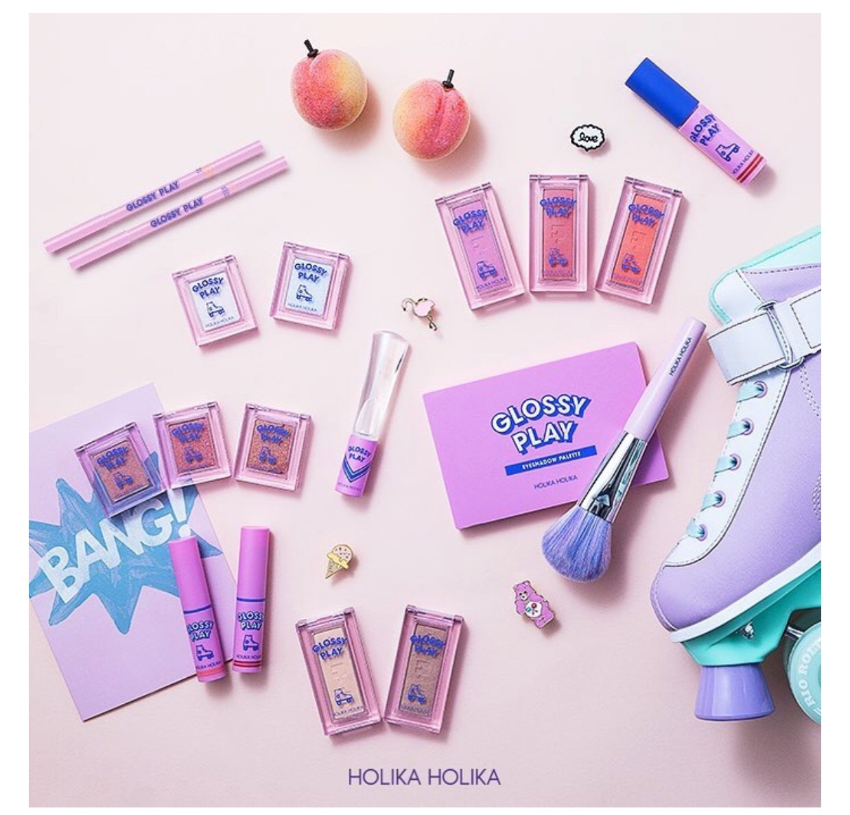 【新作!韓国コスメ】HOLIKA HOLIKA♡GLOSSY PLAY